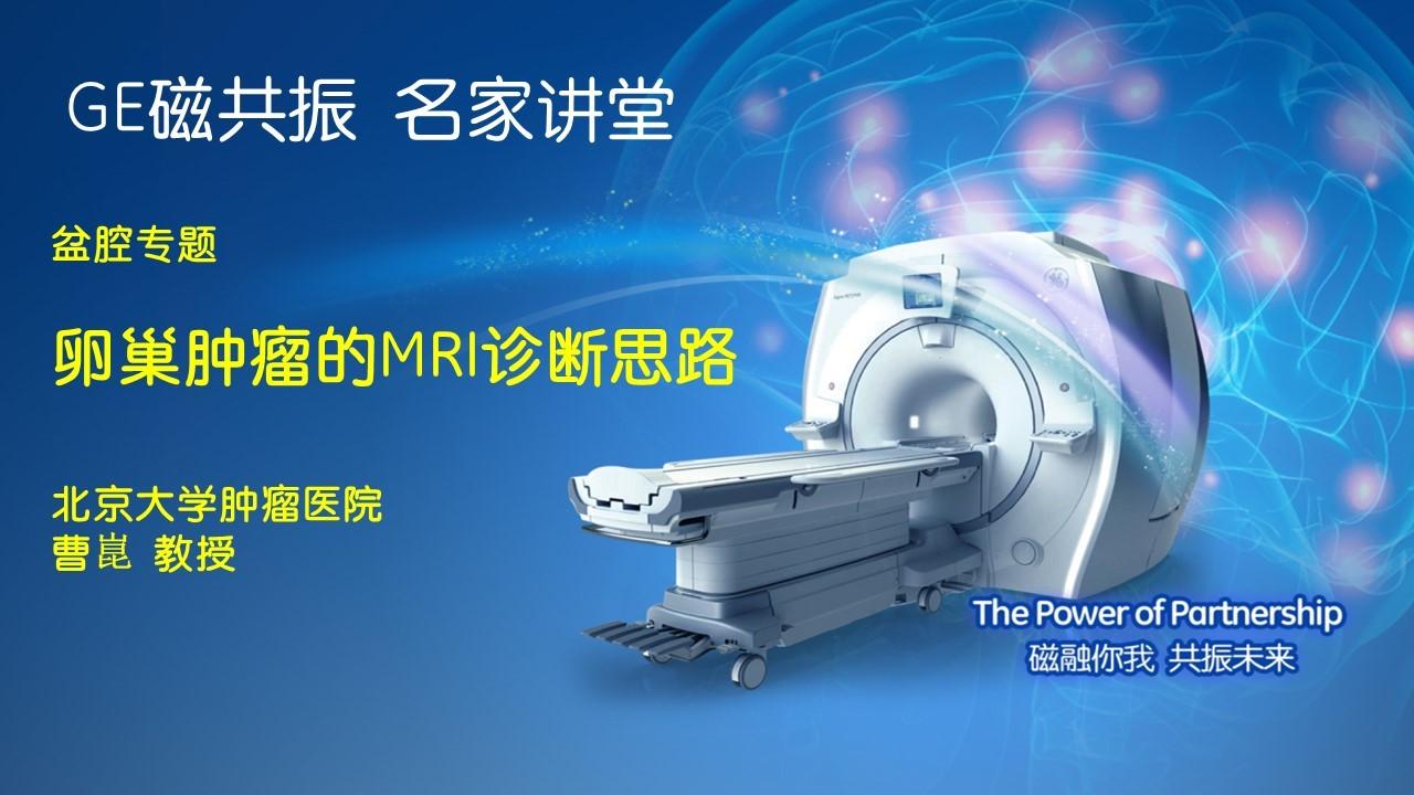 卵巢肿瘤的MRI诊断思路